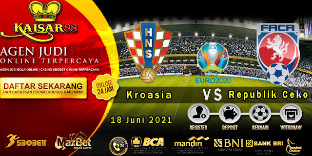 Prediksi Bola Terpercaya Piala EURO Croatia vs Czech Republic 18 Juni 2021