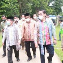 Wabup Hairan Hadiri FCM XVI KEN di Komplek Candi Muaro Jambi