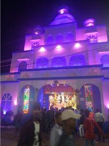 Image of Durga puja pandal