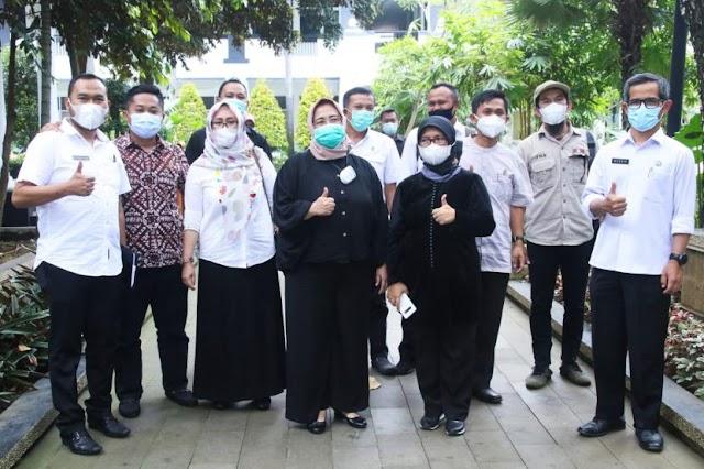 Sharing Kemitraan Dengan Media, Pemkab Garut Studi Banding ke Diskominfo Purwakarta