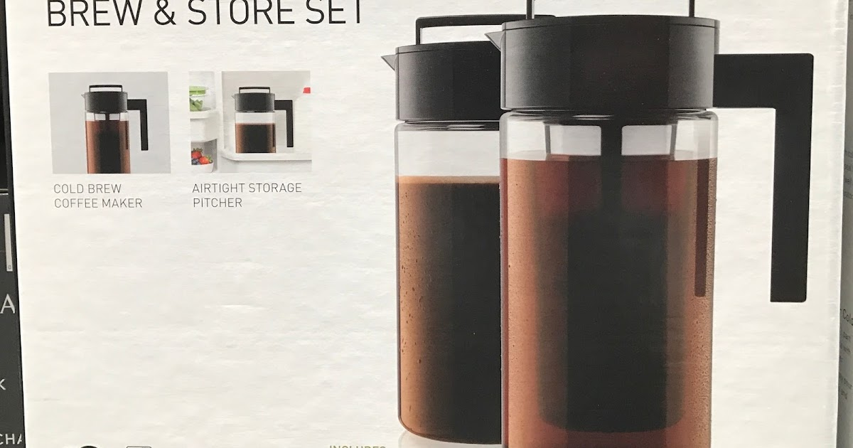 Takeya Cold Brew Coffee Maker Brew and Store Set | Costco ...