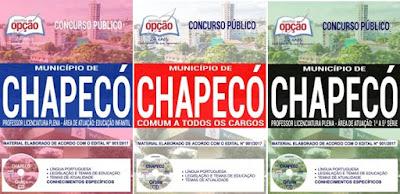 Apostila Professor concurso público Chapecó
