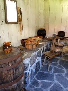 1820 Log Schoolhouse: Spring Houses: Keeping Things Cool in the 19th ...