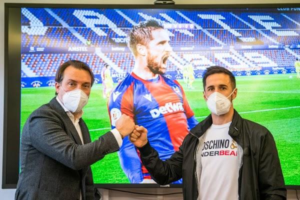Oficial: Levante, renueva Miramón hasta 2022
