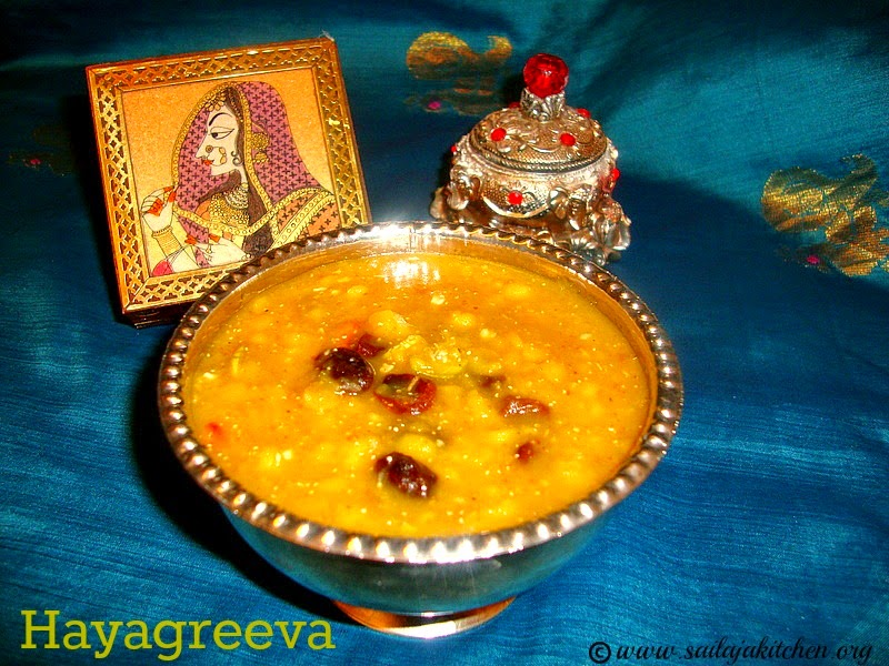 images for Hayagreeva Recipe / Hayagriva Recipe /Hayagreeva Maddi Recipe / Sweet With Channa Dal And Jaggery