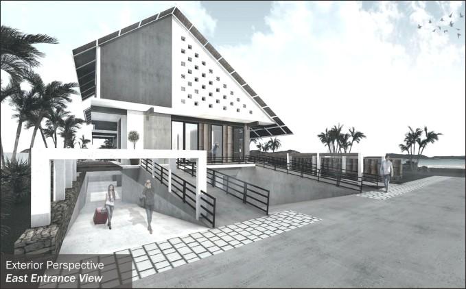 Desain Guest House + Gallery