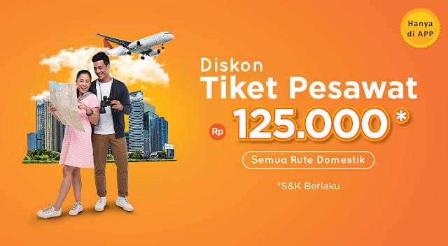 #PegiPegi - #Promo Diskon Tiket Pesawat Hingga 125K (s.d 13 Des 2019)