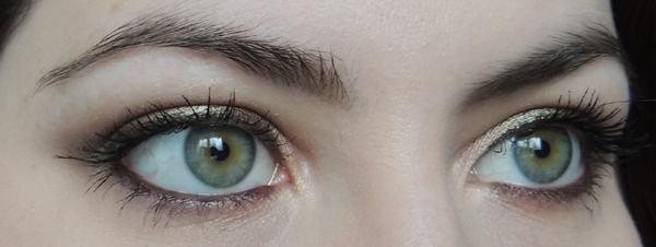 tutoriel maquillage pas a pas kaki yeux verts