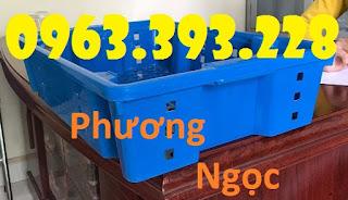 Sóng nhựa rỗng HS002, sóng cá, sọt đựng hải sản, rổ đựng cá Song-ca-viet%2B2
