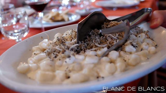 Tryffelignocchi - www.blancdeblancs.fi