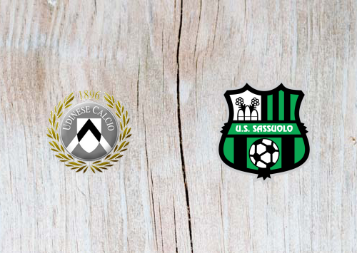 Udinese vs Sassuolo - Highlights 20 April 2019