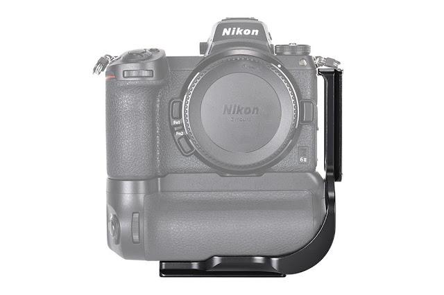 Sunwayfoto PNL-Z6IIG L Bracket on Nikon Z6II with Grip