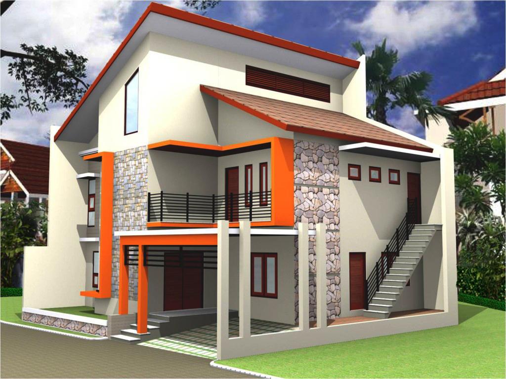 Model Exterior Rumah Minimalis Sederhana BENGKEL LAS Muaza KEDIRI