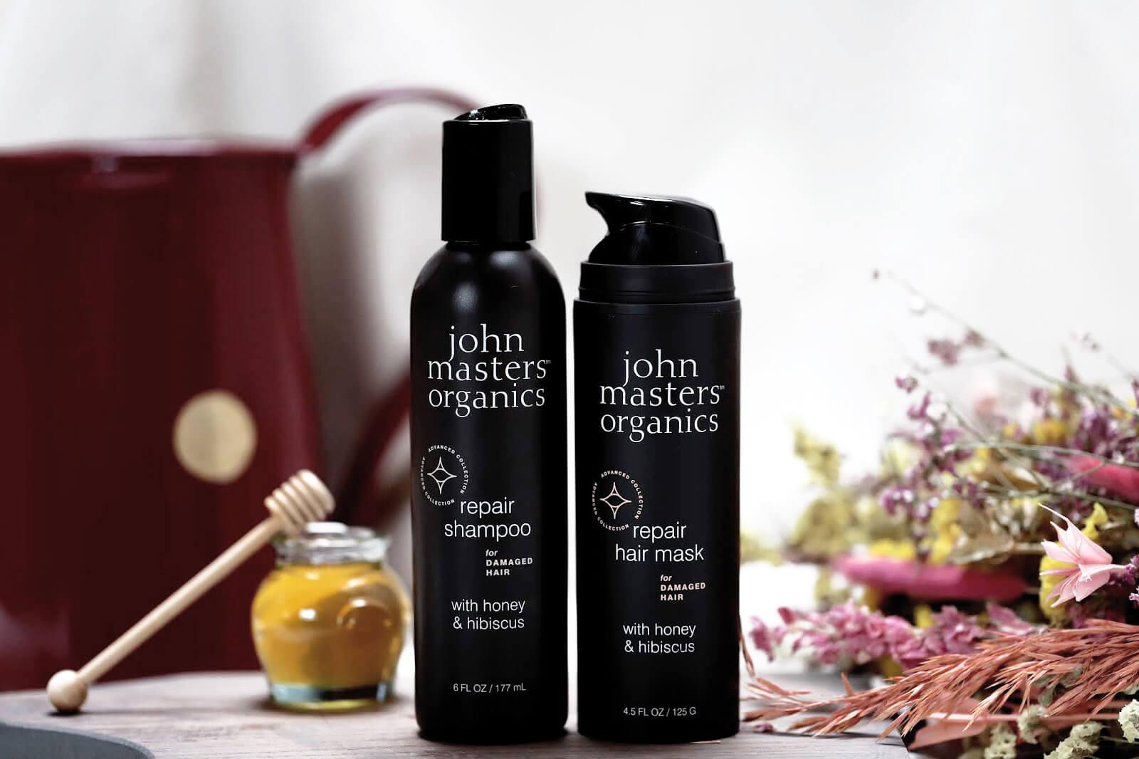 John Masters Organics Repair Shampooing Masque Avis