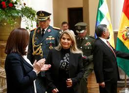 la ex presidenta Jeanine Áñez