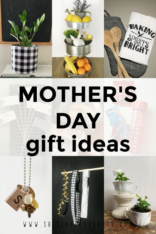 Mother's Day Gift Ideas photo collage Pinterst pin.