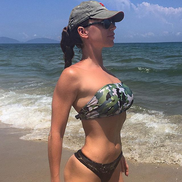 Fitness girl Nadiya Mol