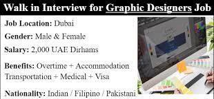 Tagalog Speaking Graphic Designer Job Vacancy An Advertising and Digital Printing company in Abu Dhabi