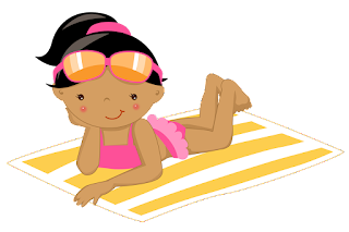 Beach Reading Clipart