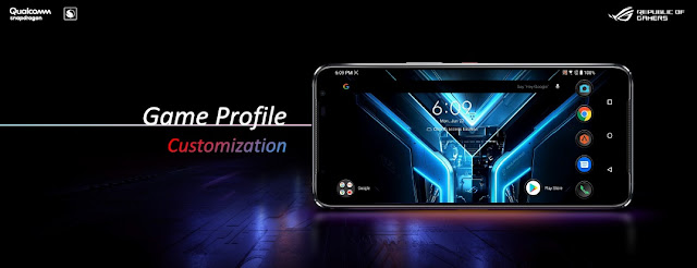 Game Profile Customization ROG Phone 3