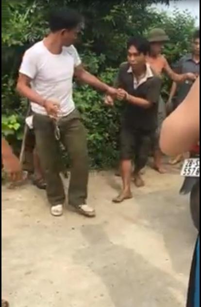 Bắt được tên trộm tại xã Dân Chủ - Tp Hòa Bình