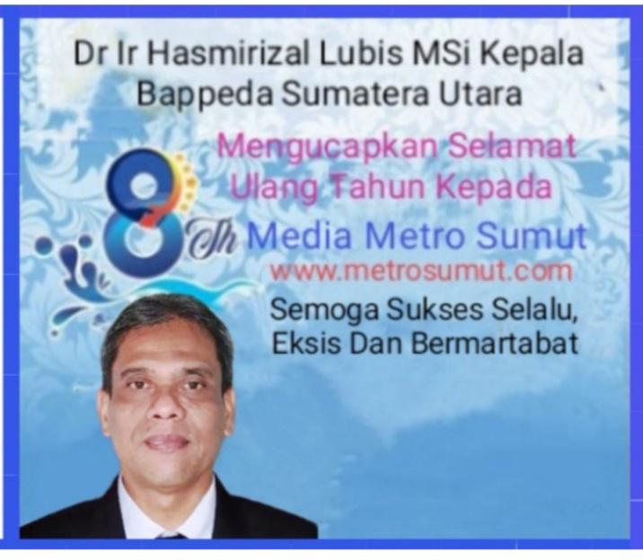 Dr Ir Hasmirizal Lubis MSi
