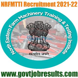 NRFMTTI Jobs Recruitment in 2021-22