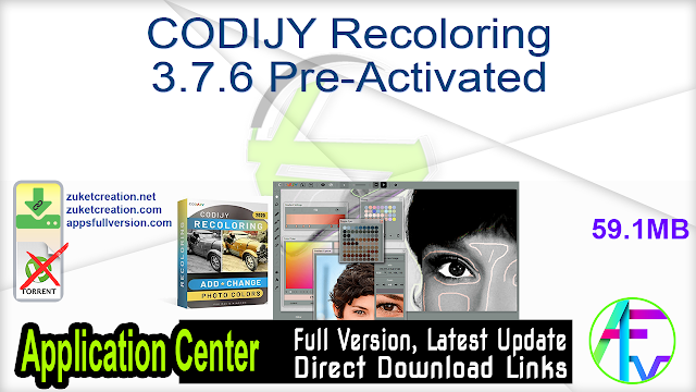 CODIJY Recoloring 3.7.6 Pre-Activated