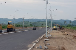 Progres 84,9%, Jalan Menuju Gerupuk The Mandalika Rampung Kuartal III 2021