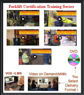Forklift training course series