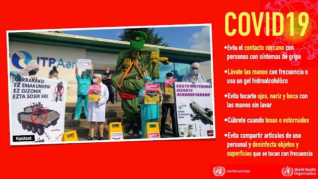 Protesta ante ITP Aero