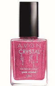 "Esmalte ""Pink Crystal"" da  Avon"