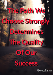 Path We Choose Motivation Quote