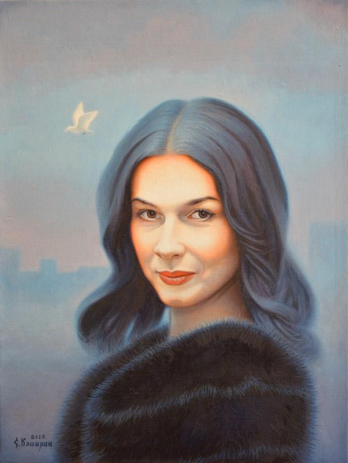 Портрет Веры Сабуровой
