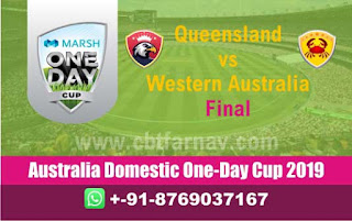 WAU vs QUN Final Marsh One Day Cup Match Prediction Today Reports