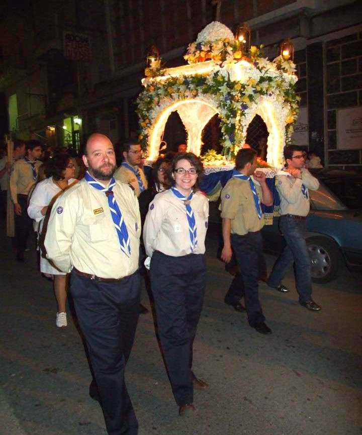 Οι Πρόσκοποι της Καστοριάς σήμερα στο Άι Γιώργη
