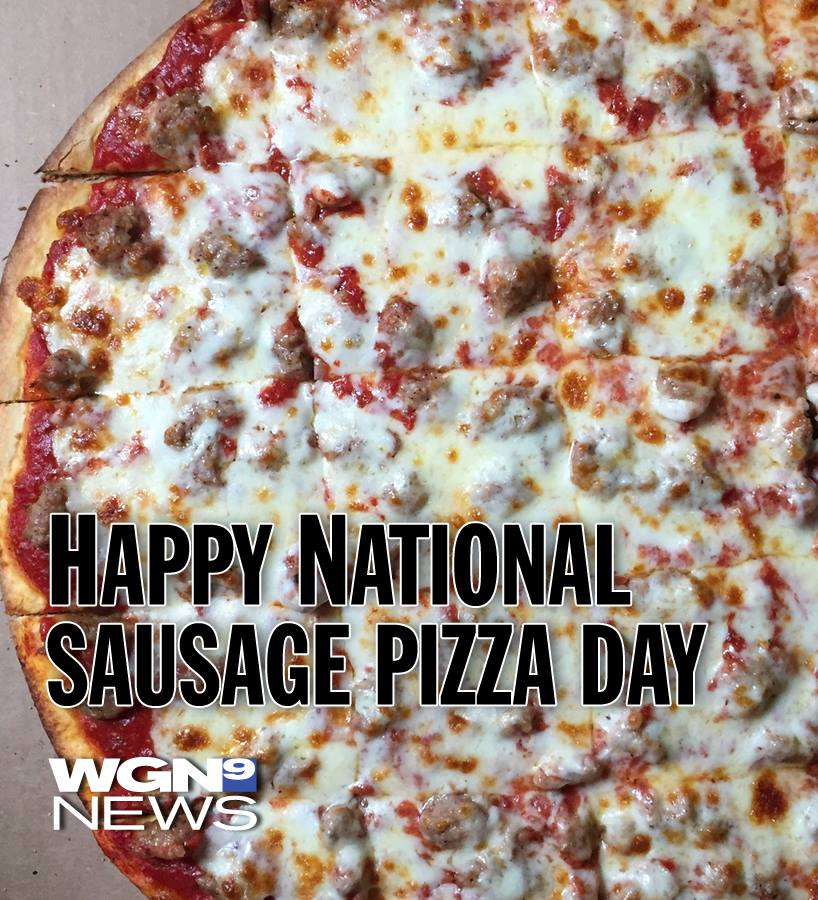 National Sausage Pizza Day Wishes for Whatsapp