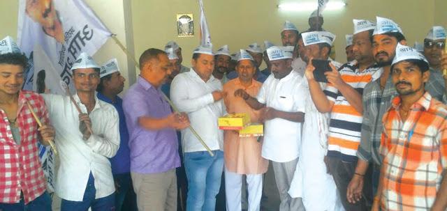 You, leader Girraj Sharma opened office at Asoka Inklew