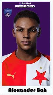 PES 2021 Faces Alexander Bah by Shaft