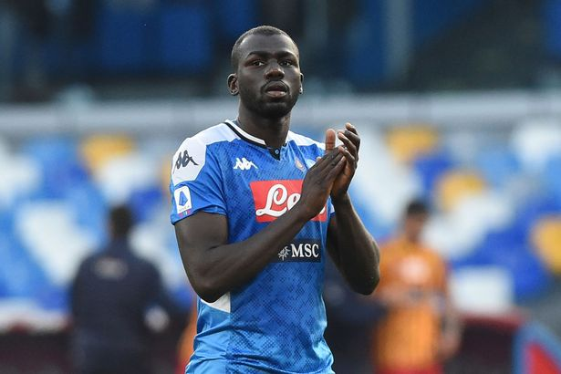 Manchester City boss Guardiola set to pull the plug on Napoli defender Koulibaly