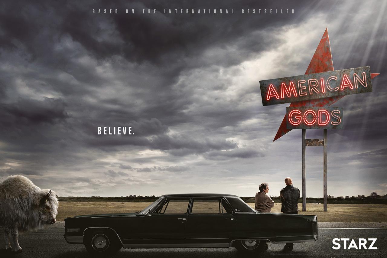 American Gods, uma série ambiciosa, violenta e surpreendente