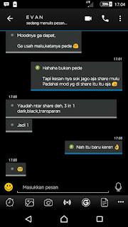 Tema BBM MOD Like iOS v3.3.6.51 Apk2