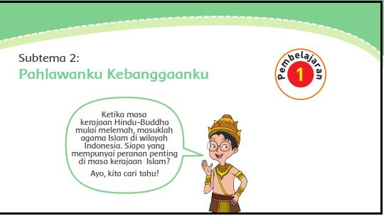 Kunci Jawaban Buku Siswa Tema 5 Kelas 4 Halaman 54 55 57 59 Soal Tematik Sd