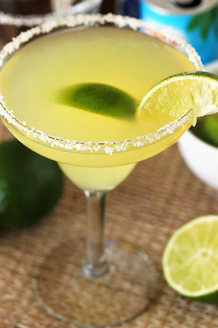 Fresh Margarita with Homemade Citrus Syrup Image