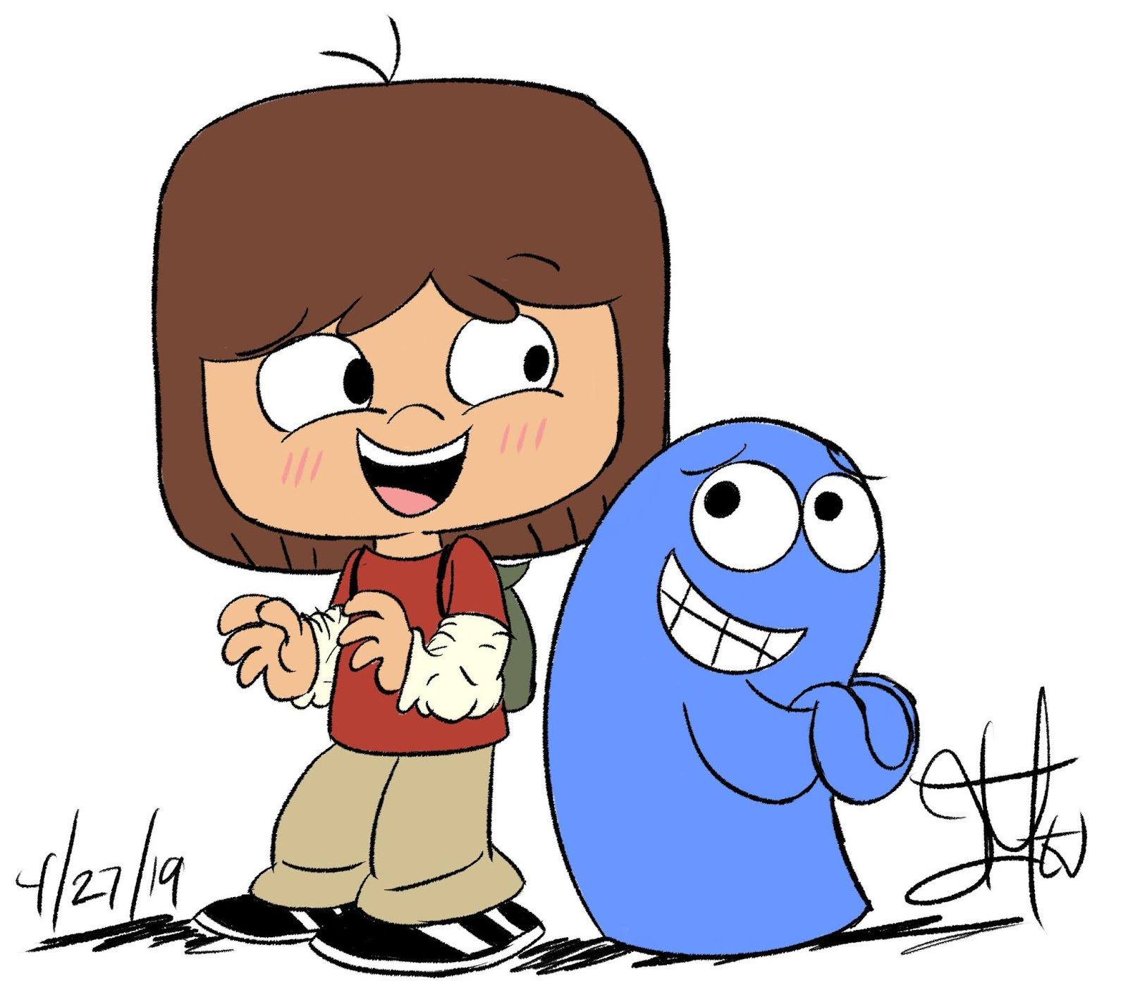 Fosters home for imaginary friends bloo me