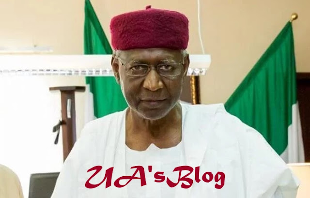 2019: Buhari's Chief of Staff, Abba Kyari meets INEC chairman amid President's certificate controversy
