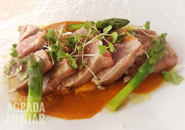 tonyina a la brasa suquet de marmitako