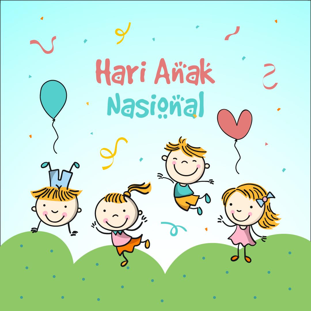 Gambar Ucapan Selamat Hari Anak Nasional - 23 Juli 2021