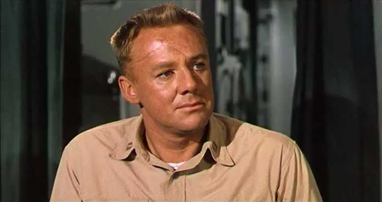 Van Johnson stars with Humphrey Bogart in The Caine Mutiny.
