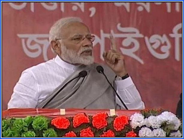 PM Narendra Modi stays silent on Gorkhaland issue during Bengal rally